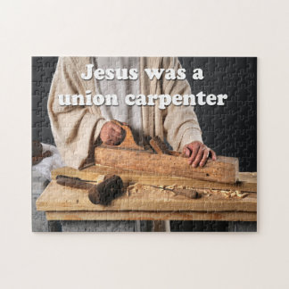 Jesus Was a Union Carpenter Puzzle