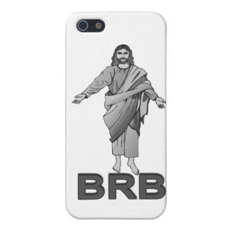 Jesus Will Be Right Back iPhone 5/5S Cover