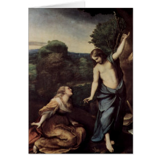 Jesus with Mary After Resurrection Card