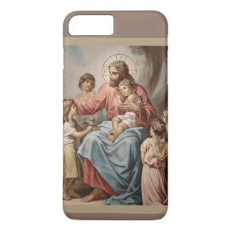 Jesus with the Children Boys Girls iPhone 8 Plus/7 Plus Case