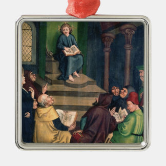Jesus with the Doctors Christmas Ornament