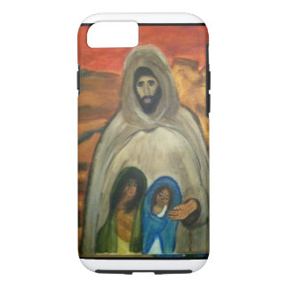 Jesus with two children. iPhone 7 case