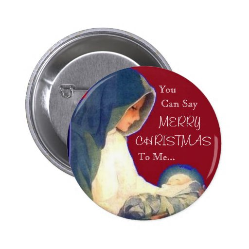 Jesus, You , Can Say, MERRY, CHRISTMAS, To Me... 6 Cm Round Badge