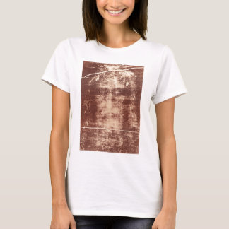Jesus's Face Close up on the Shroud of Turin T-Shirt