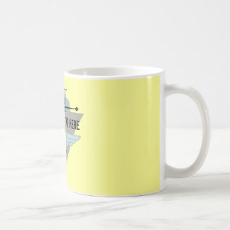 Jet Airplane Wing Club Coffee Mugs