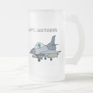 Jet and Pilot Coffee Mugs