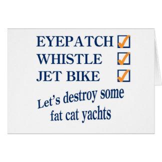 Jet Bike Steve Card