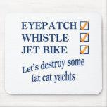 Jet Bike Steve Mouse Pad