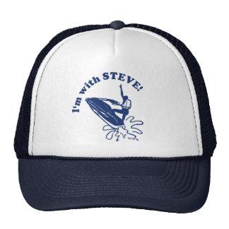 Jet Bike Steve s Trucker Hat