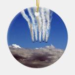 Jet Christmas Ornament