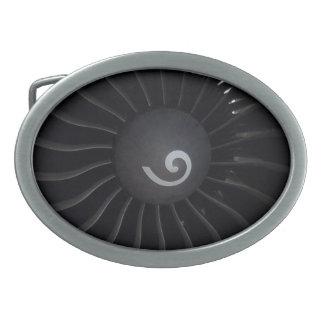 Jet Engine Belt Buckle