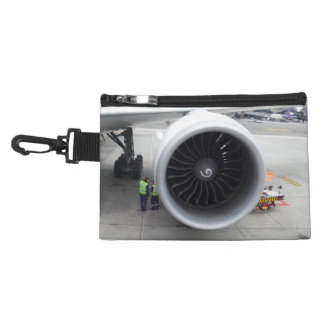 Jet Engine Clip On Accessory Bag