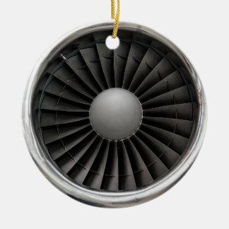 Jet Engine Turbine Fan Christmas Ornament