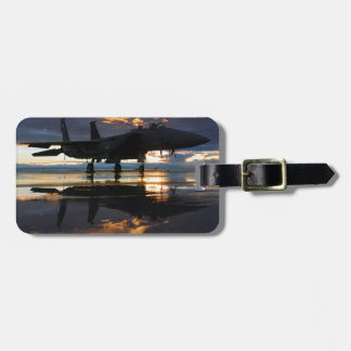 Jet Fighter Aircraft Pilot Wings Destiny Luggage Tags