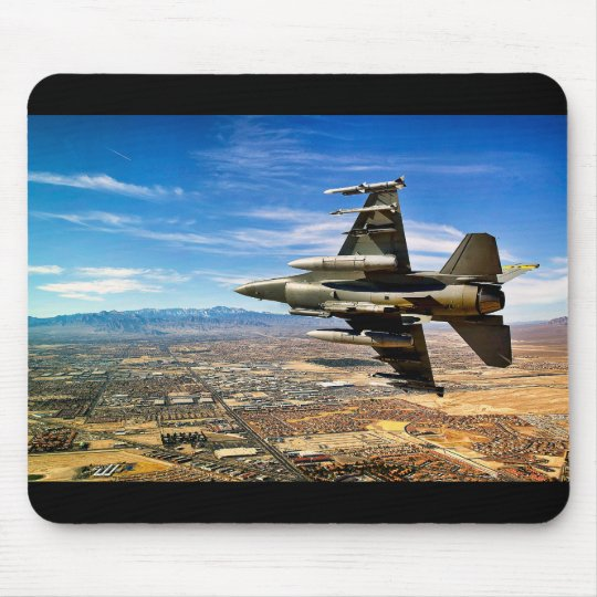 Jet fighter mouse mat