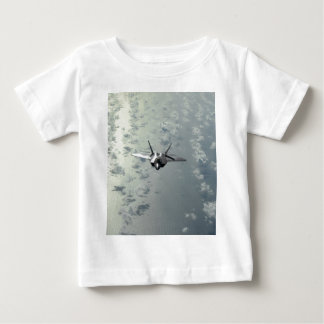 Jet Fighter Over Seas Baby T-Shirt