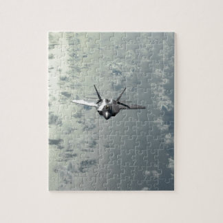 Jet Fighter Over Seas Jigsaw Puzzle