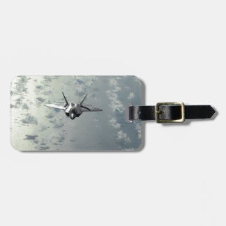 Jet Fighter Over Seas Luggage Tag