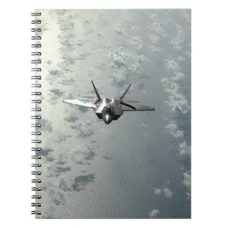 Jet Fighter Over Seas Notebook