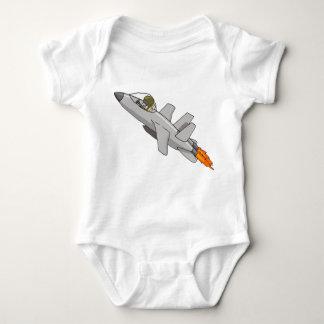 Jet Fighter Pilot Baby T Shirt