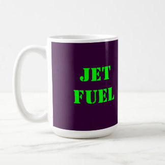 JET FUEL CLASSIC WHITE COFFEE MUG