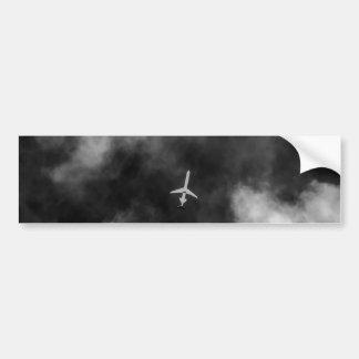 Jet High In The Sky Bumper Sticker