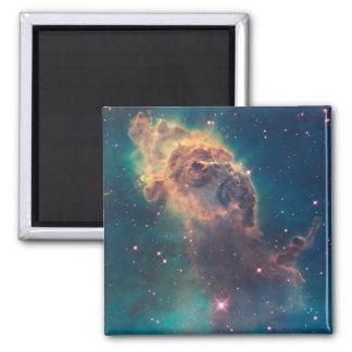 Jet in Carina Nebula Square Magnet