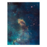 Jet in Carina WFC3 UVIS 18x24 (18x24) Poster