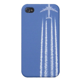 Jet in the sky iPhone 4 cover