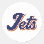Jet Life Round Sticker