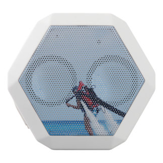 Jet Pack Blasting Off White Boombot Rex Bluetooth Speaker