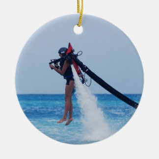 Jet Pack Christmas Ornament
