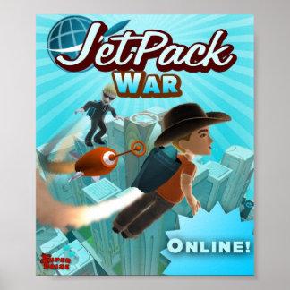 Jet Pack War Poster