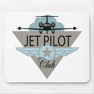 Jet Pilot Club Mouse Pad
