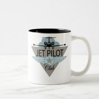 Jet Pilot Club Coffee Mugs