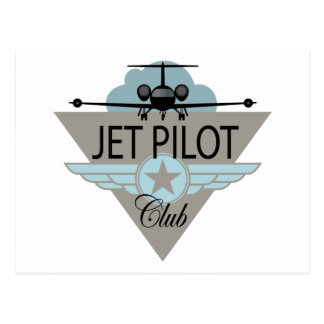 Jet Pilot Club Post Card