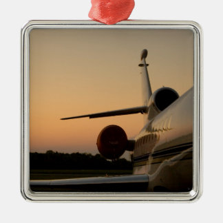 Jet Plane Wing Fly Airport Christmas Ornament