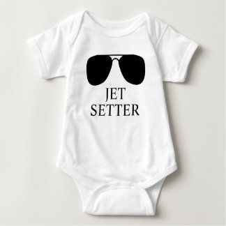 Jet Setter Baby: Perfect for Your Tiny Traveller! Baby Bodysuit