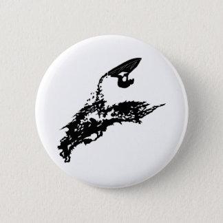 Jet ski big jump 6 cm round badge