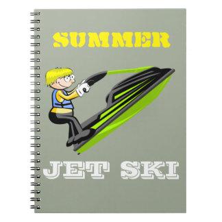Jet ski fan notebook