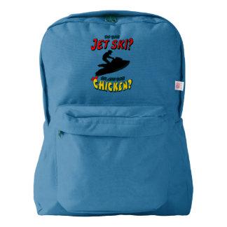 Jet Ski or Chicken? (BLK) Backpack