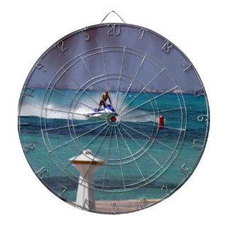 Jet Ski Paradise Dart Board