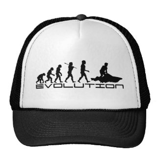 Jet Ski Skiing Water Sport Evolution Art Cap