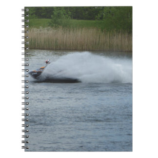 Jet Skier on Lake Notebook