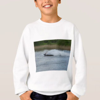 Jet Skier on Lake Sweatshirt