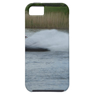 Jet Skier on Lake Tough iPhone 5 Case