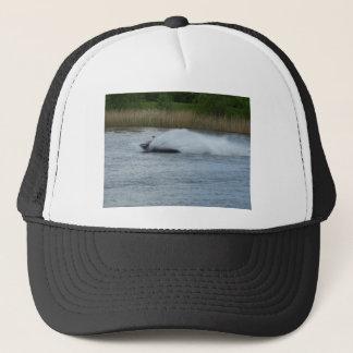 Jet Skier on Lake Trucker Hat