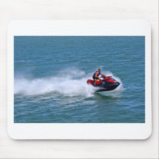 Jet Skiing Mouse Pad