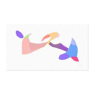 Jet Stretched Canvas Prints