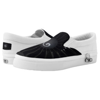 Jet Turbine Custom Zipz Slip On Shoes,Men & Women